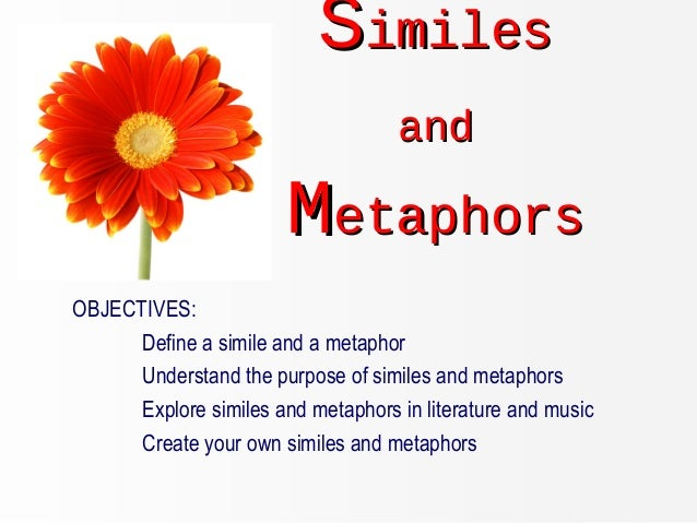 example for simile of like