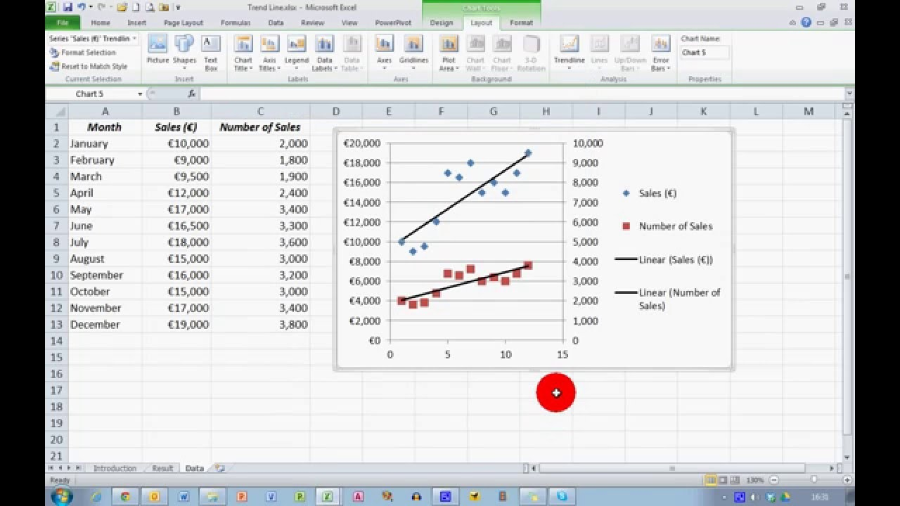multiple linear regression excel 2010 example