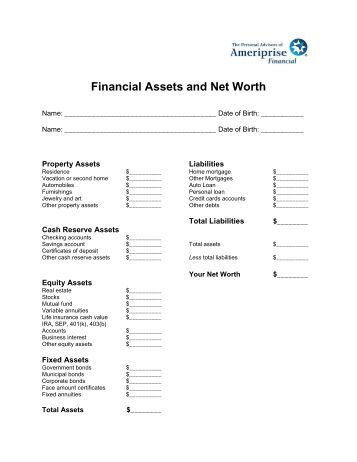 statement of changes in net assets example