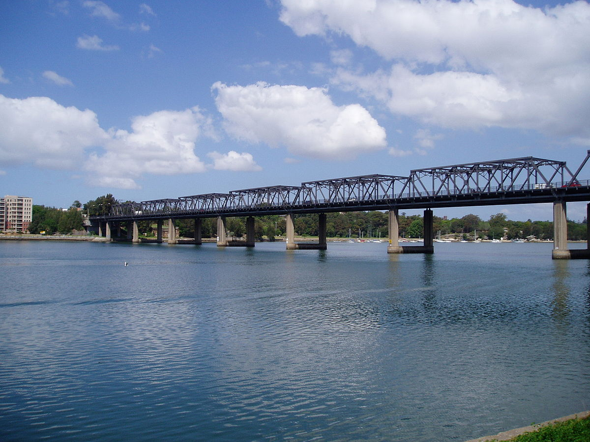 example of truss bridges in new south wales