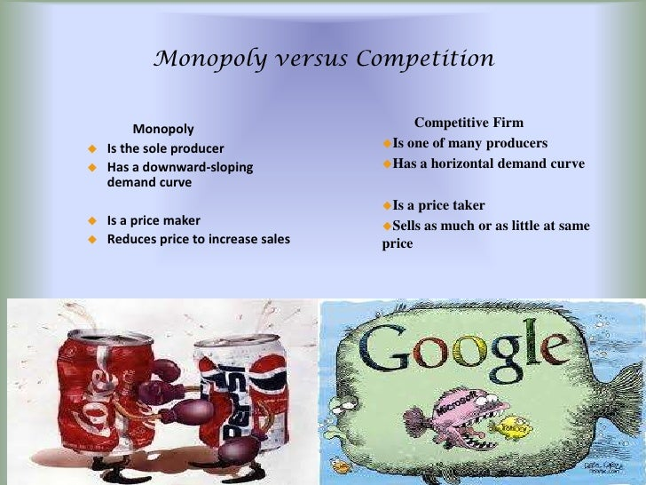 an example of a natural monopoly product is