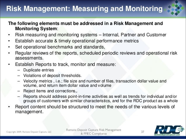 establising internal context in a risk management example