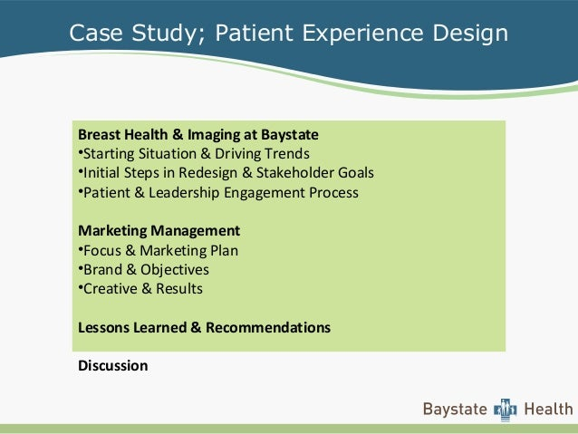 case study of a patient example