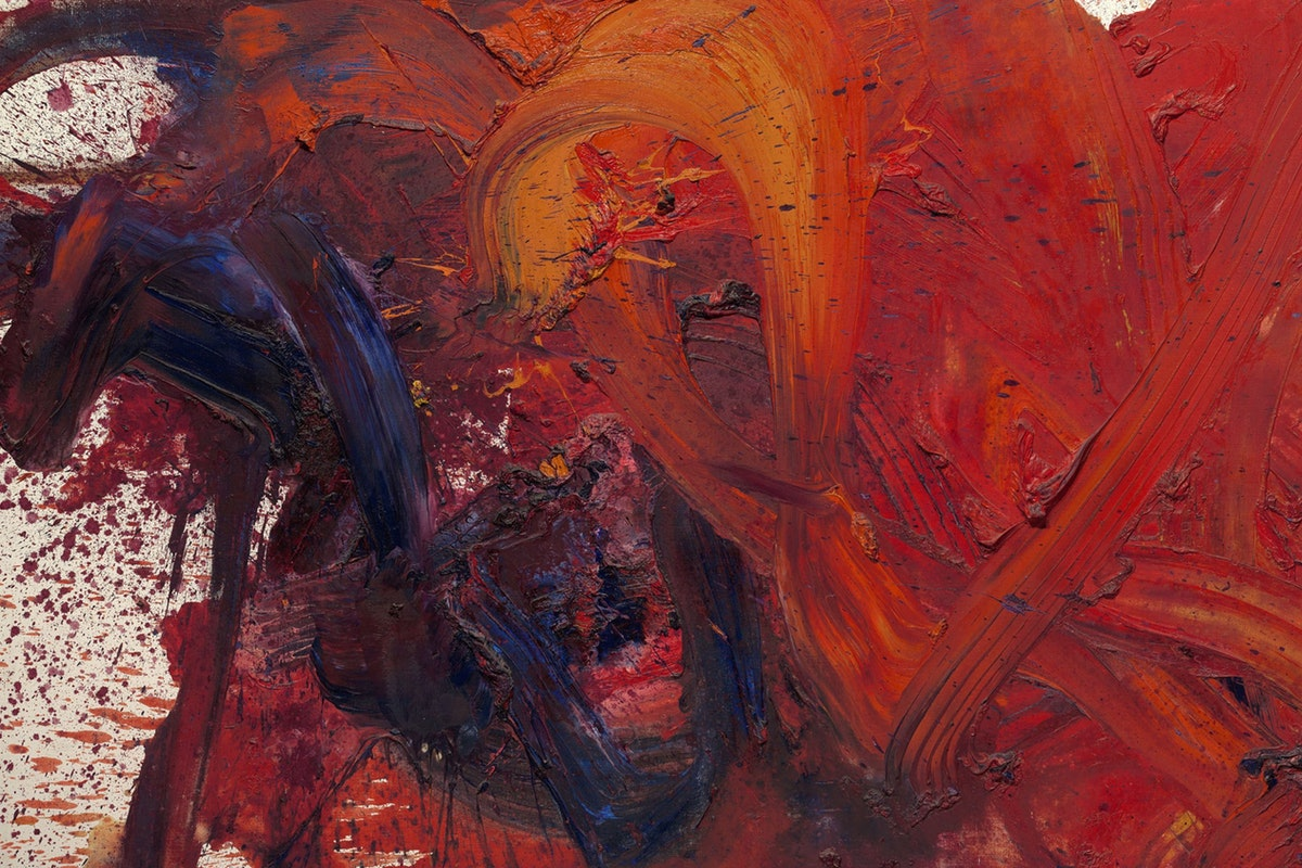 example of abstract painting with explanation
