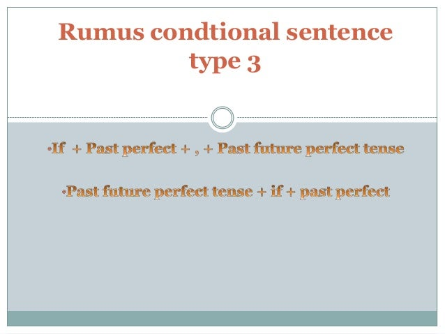 example of conditional sentence 3