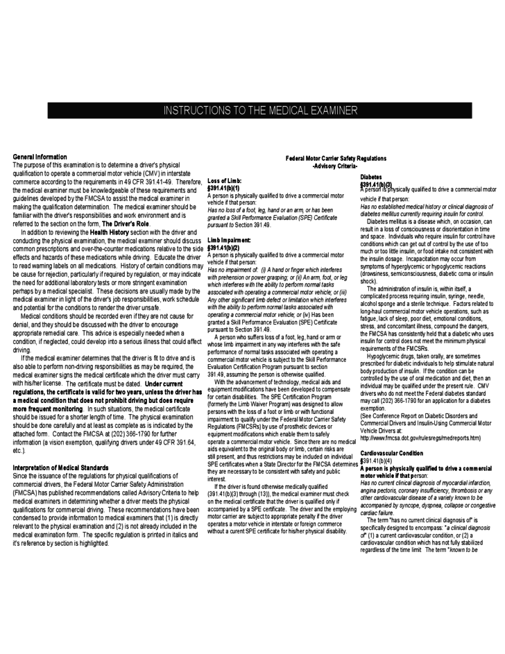 example of medical report on health and fitness