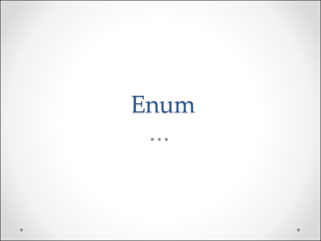 how to use enum in java example