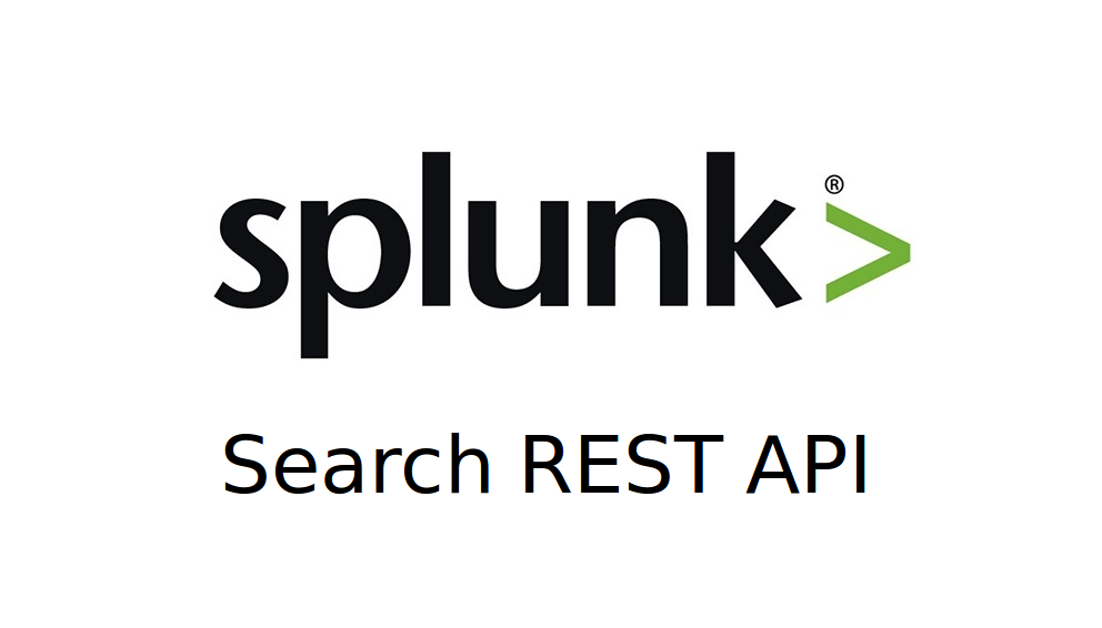 splunk rest api java example
